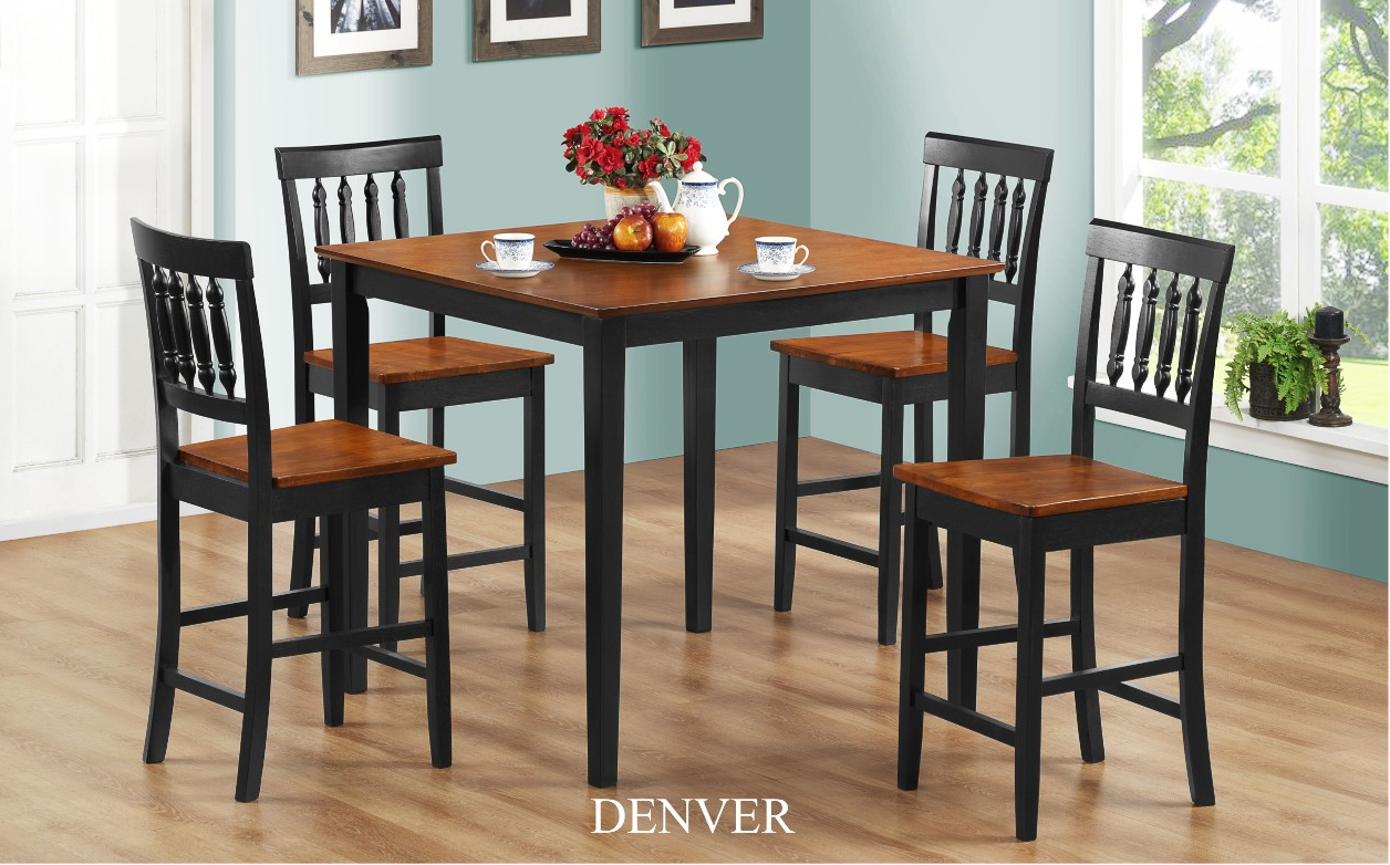 Denver 5Pc Pub Dining Set