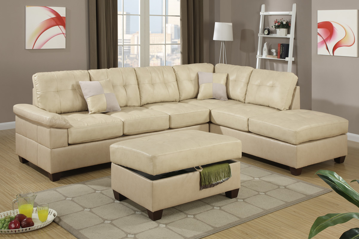 Sectional F7519 Black