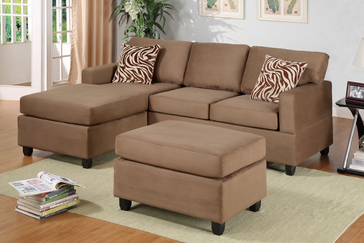 sectional f7661 chocolate furniture mattress los angeles and el monte