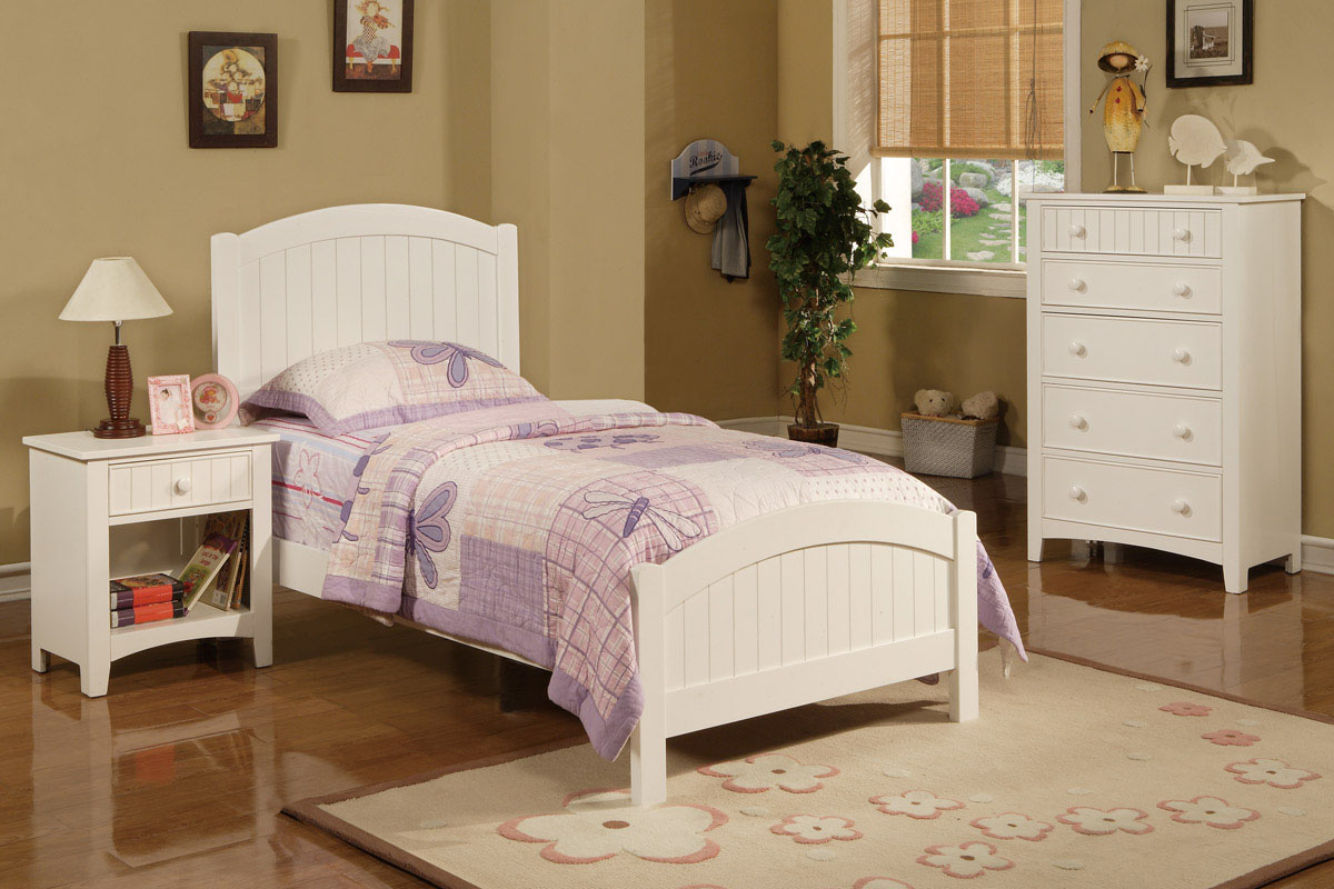 twin wood bed f9049 color white furniture mattress los angeles and rh furnituremattressla net