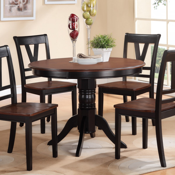 Wood Dining Set 5Pcs F2385