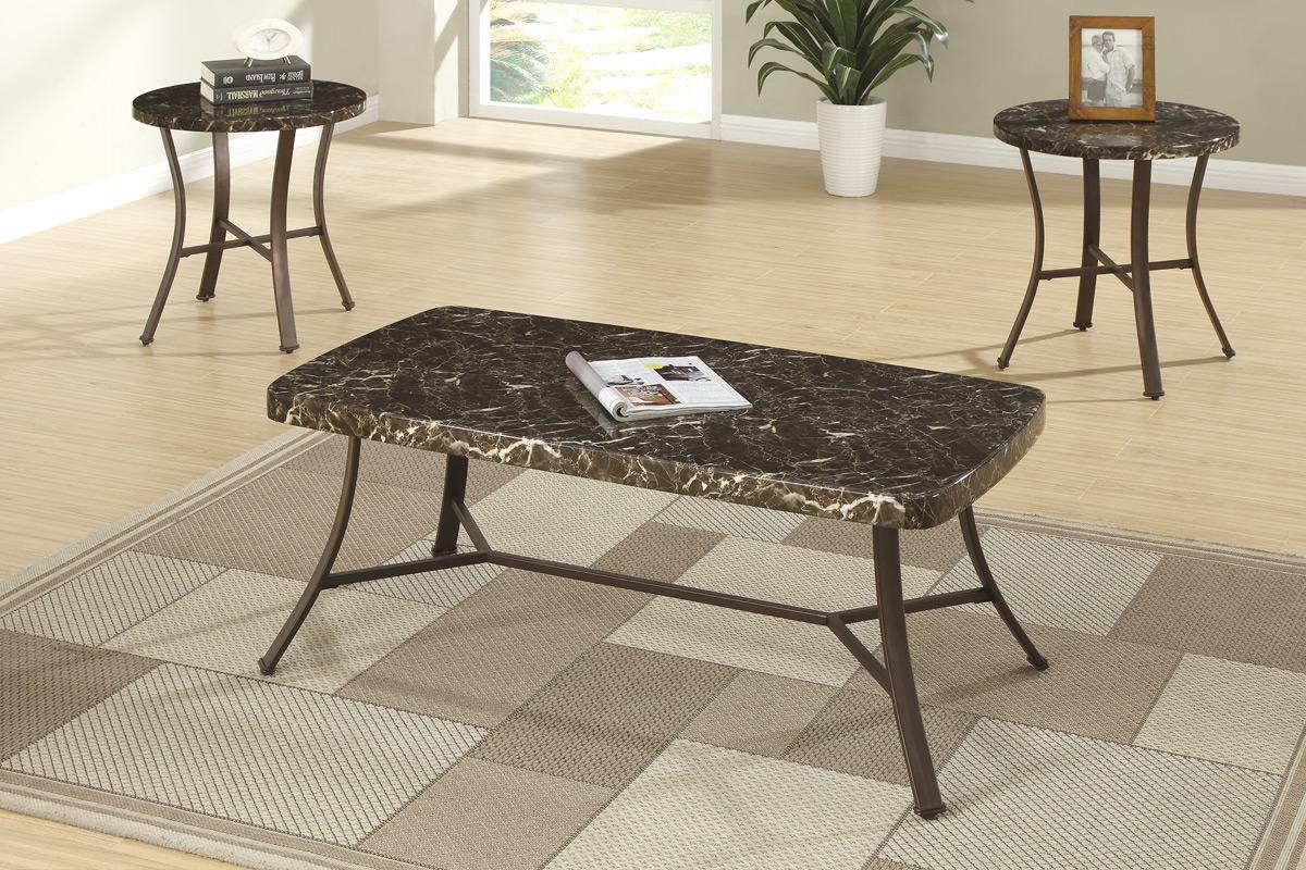 F3090 & 3-Pcs Coffee Table Set F3090