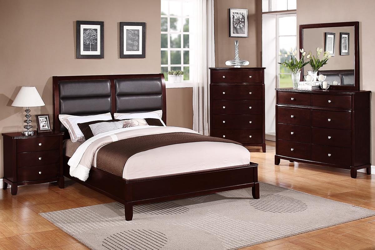 description - Cherry Bed Frame