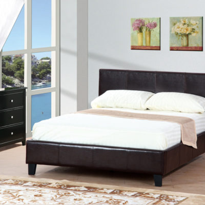 Faux Leather Bed Frames Furniture Mattress Los Angeles and El Monte