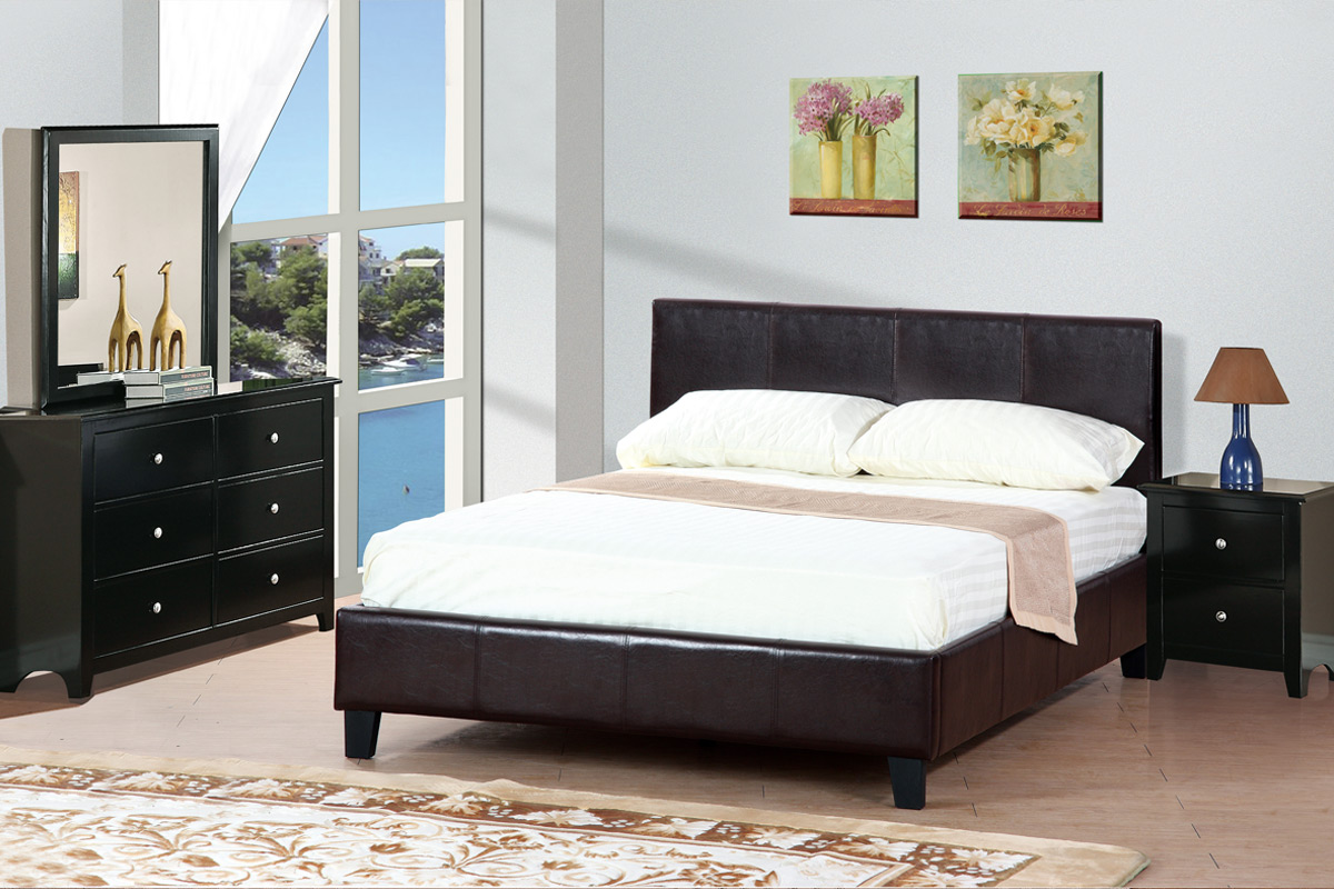F9211 Queen Bed Frame – Furniture Mattress Los Angeles and El Monte