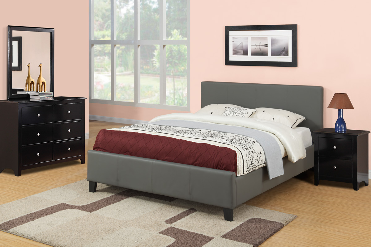 f9226 - Queen Bed Frame And Mattress Set