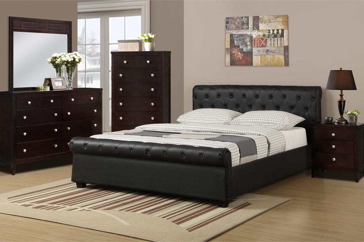 F9246 Queen Bed Frame – Furniture Mattress Los Angeles and El Monte