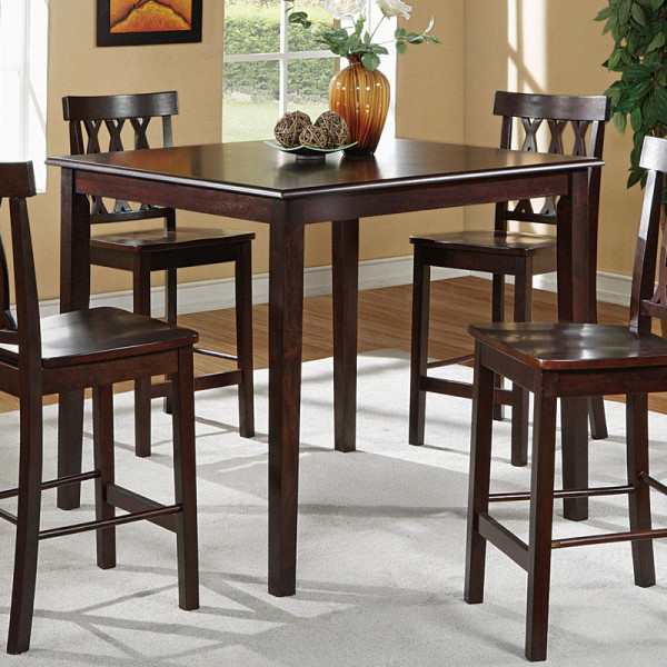 Counter Height Wood Dining Set F2259
