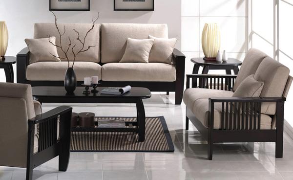 Tremendous A D Sofa Set 2Pcs 2915 Unemploymentrelief Wooden Chair Designs For Living Room Unemploymentrelieforg
