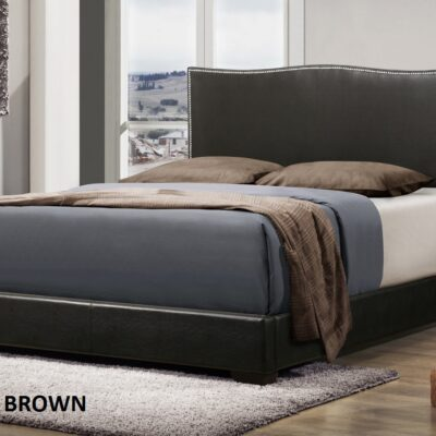 CB Queen Bed Frame CB8296 Brown