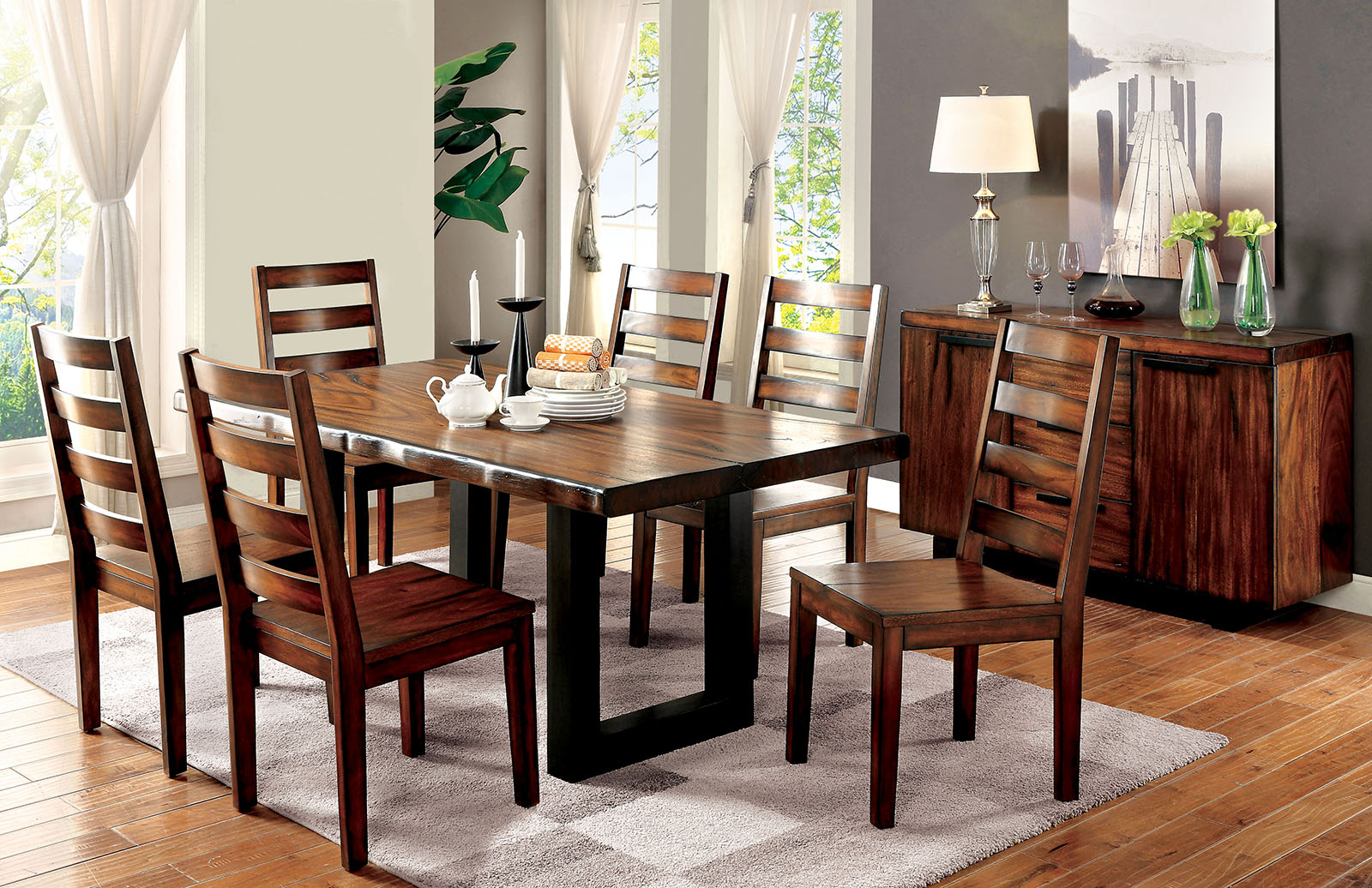 Contemporary dining room furniture sets