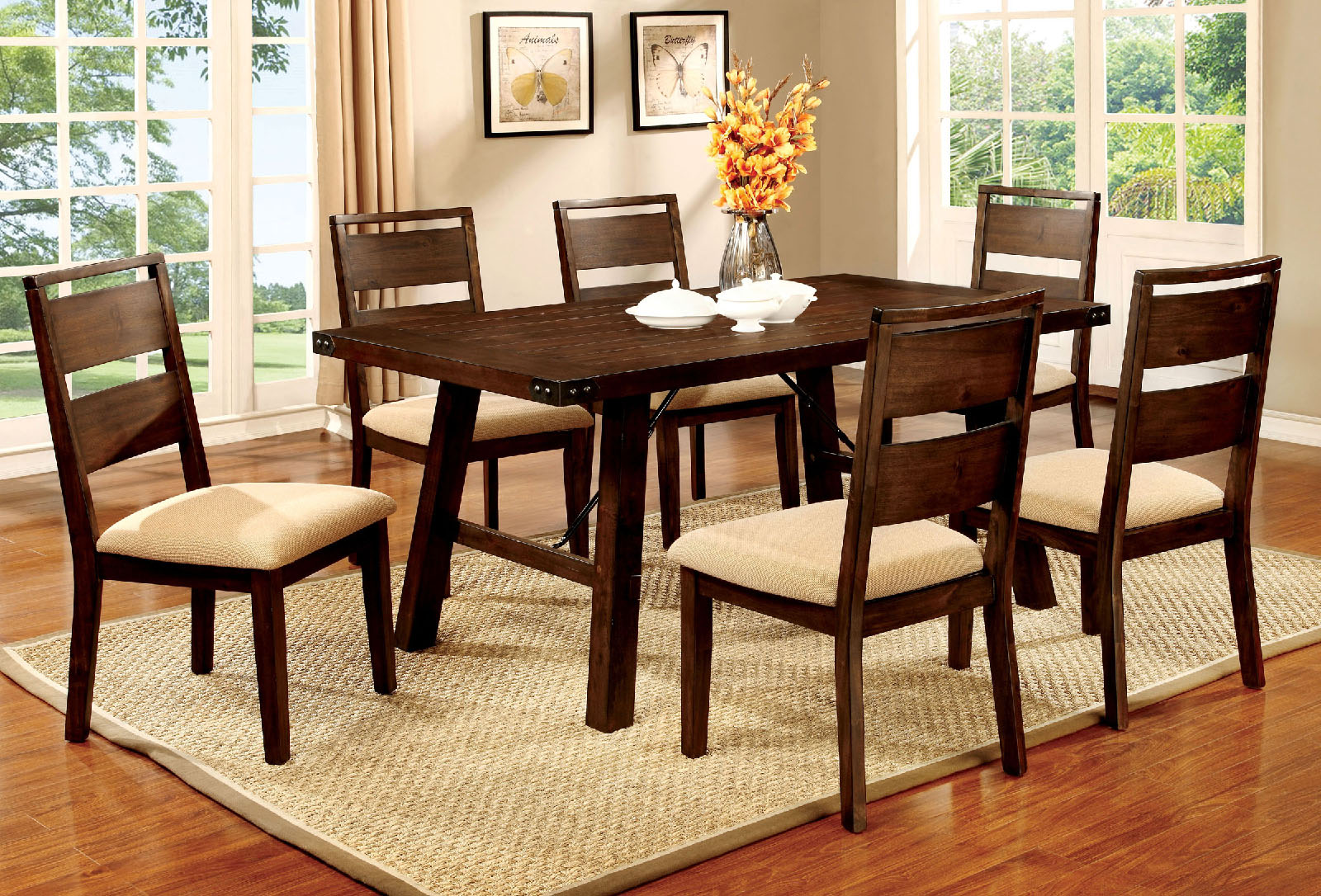 Dwayne CM3915T 7Pc Dining Set