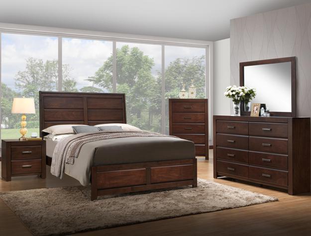 Cambridge 4pc bedroom set b5400 furniture mattress los - Bedroom furniture sets los angeles ...