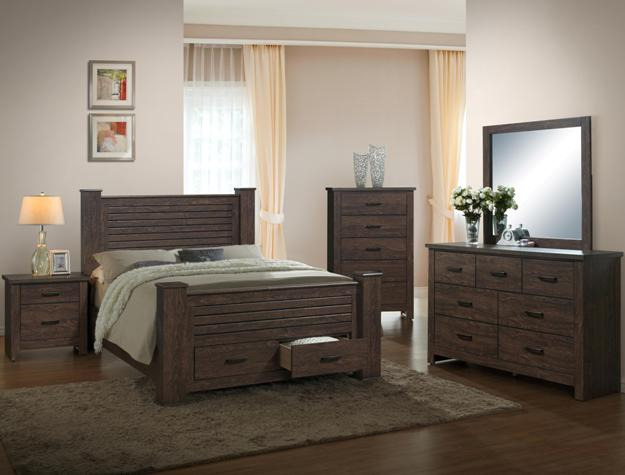 Clinton 4pc Bedroom Set B5700 Furniture Mattress Los Angeles And El Monte