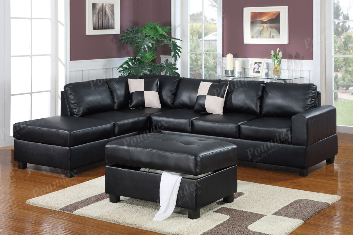 Sectional F7355 with Ottoman