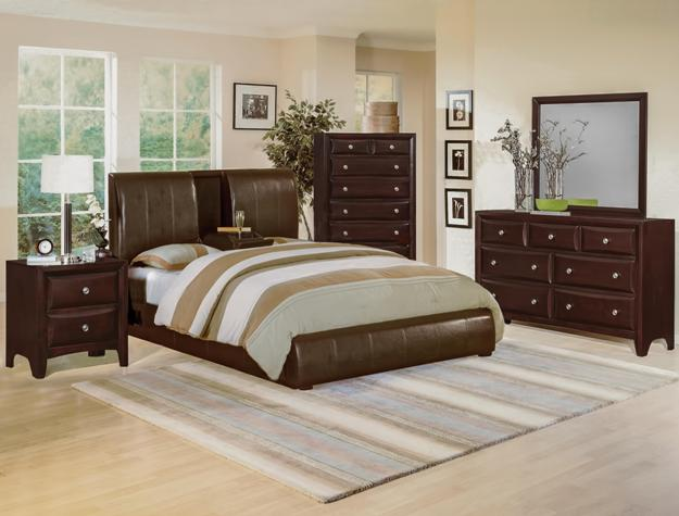 Flynn 4pc Bedroom Set B6285 Furniture Mattress Los