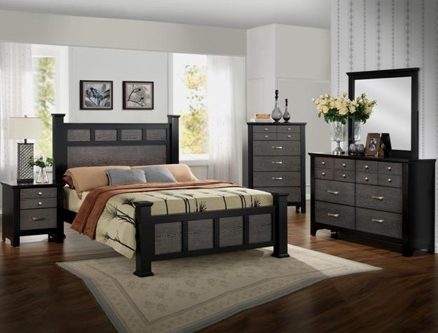 Regan 4pc Bedroom Set B4100 Furniture Mattress Los