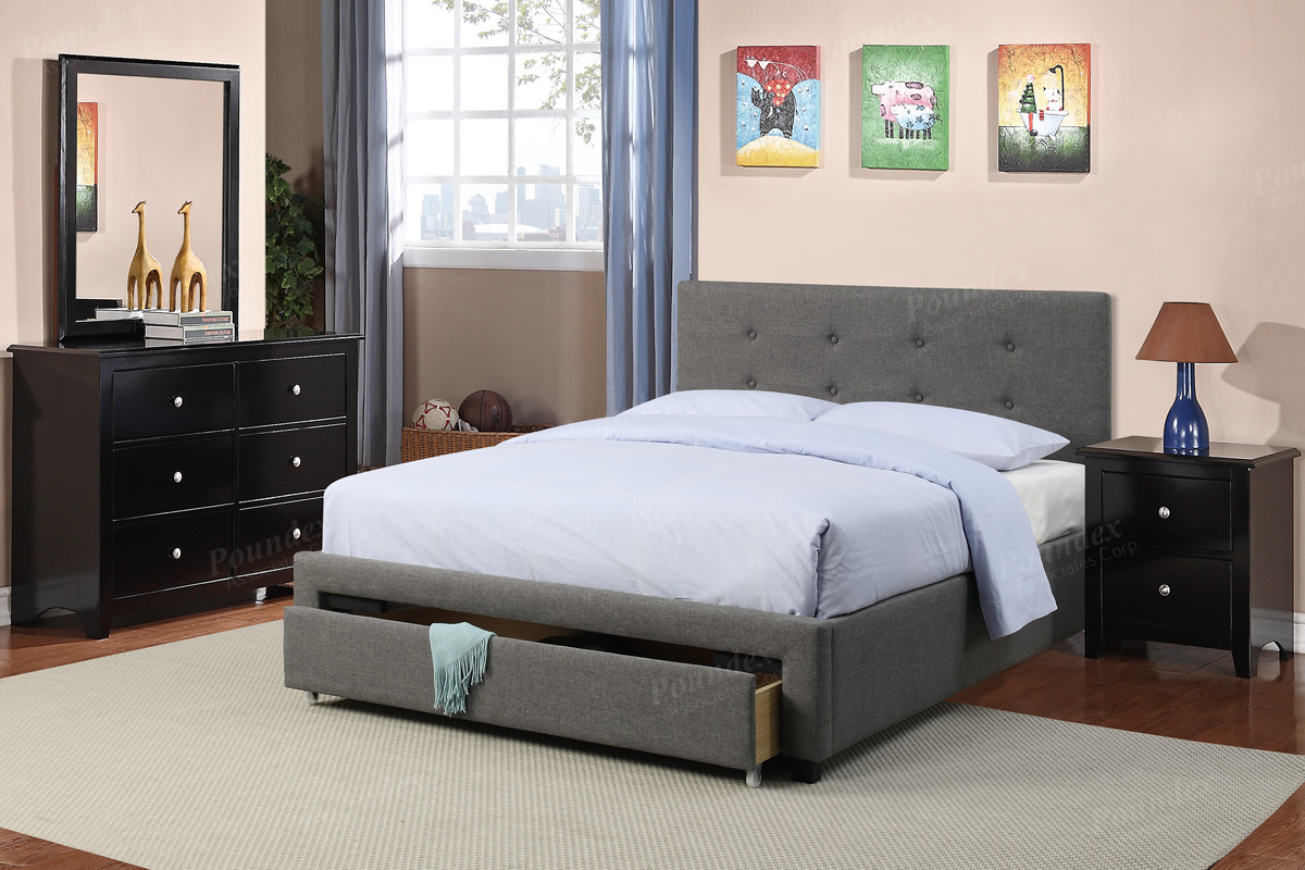 F9330 Queen Bed Frame – Furniture Mattress Los Angeles and El Monte