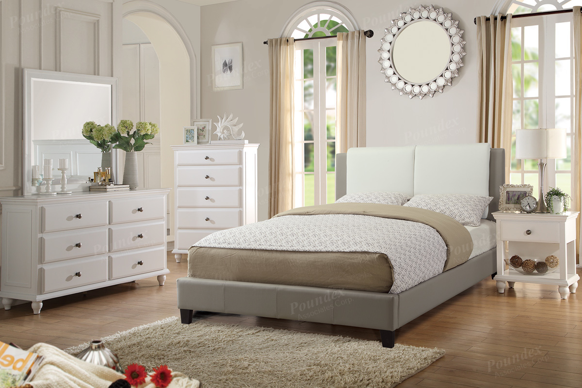 F9337 Queen Bed Frame – Furniture Mattress Los Angeles and El Monte