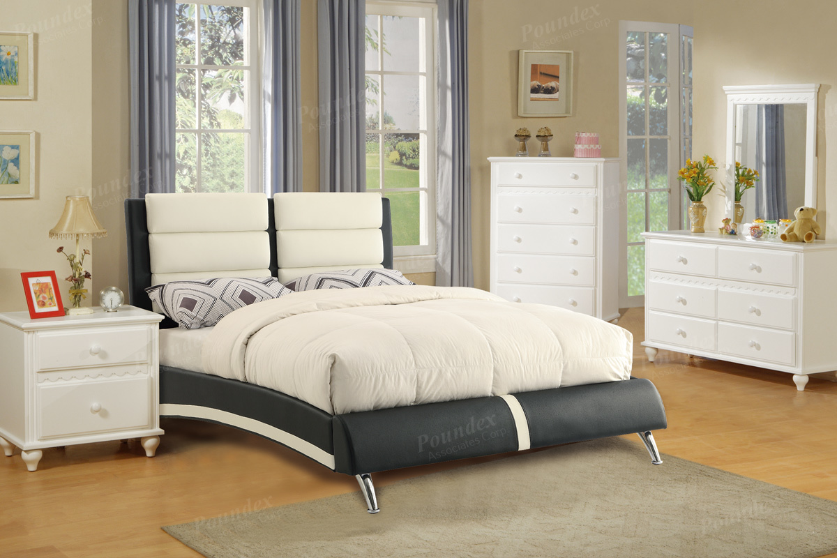 F9341 Queen Bed Frame – Furniture Mattress Los Angeles and El Monte