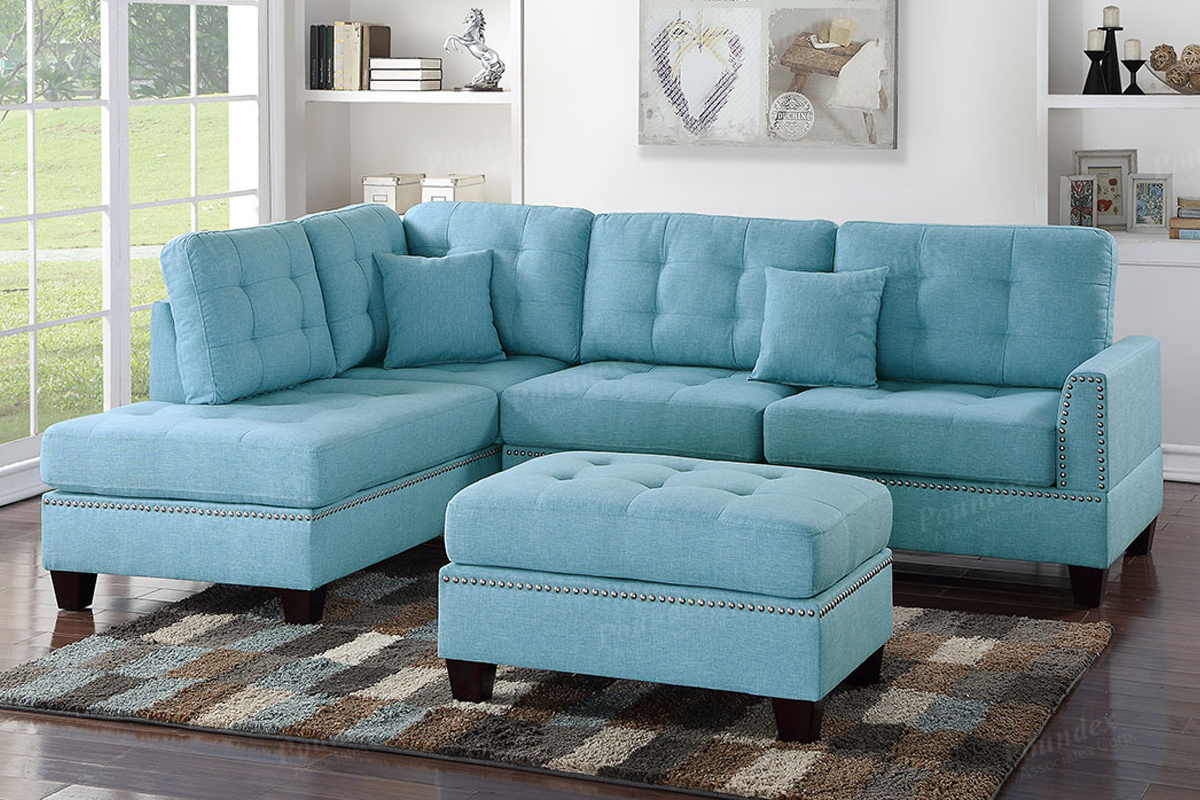 Strange Sectional F6505 With Ottoman Gmtry Best Dining Table And Chair Ideas Images Gmtryco