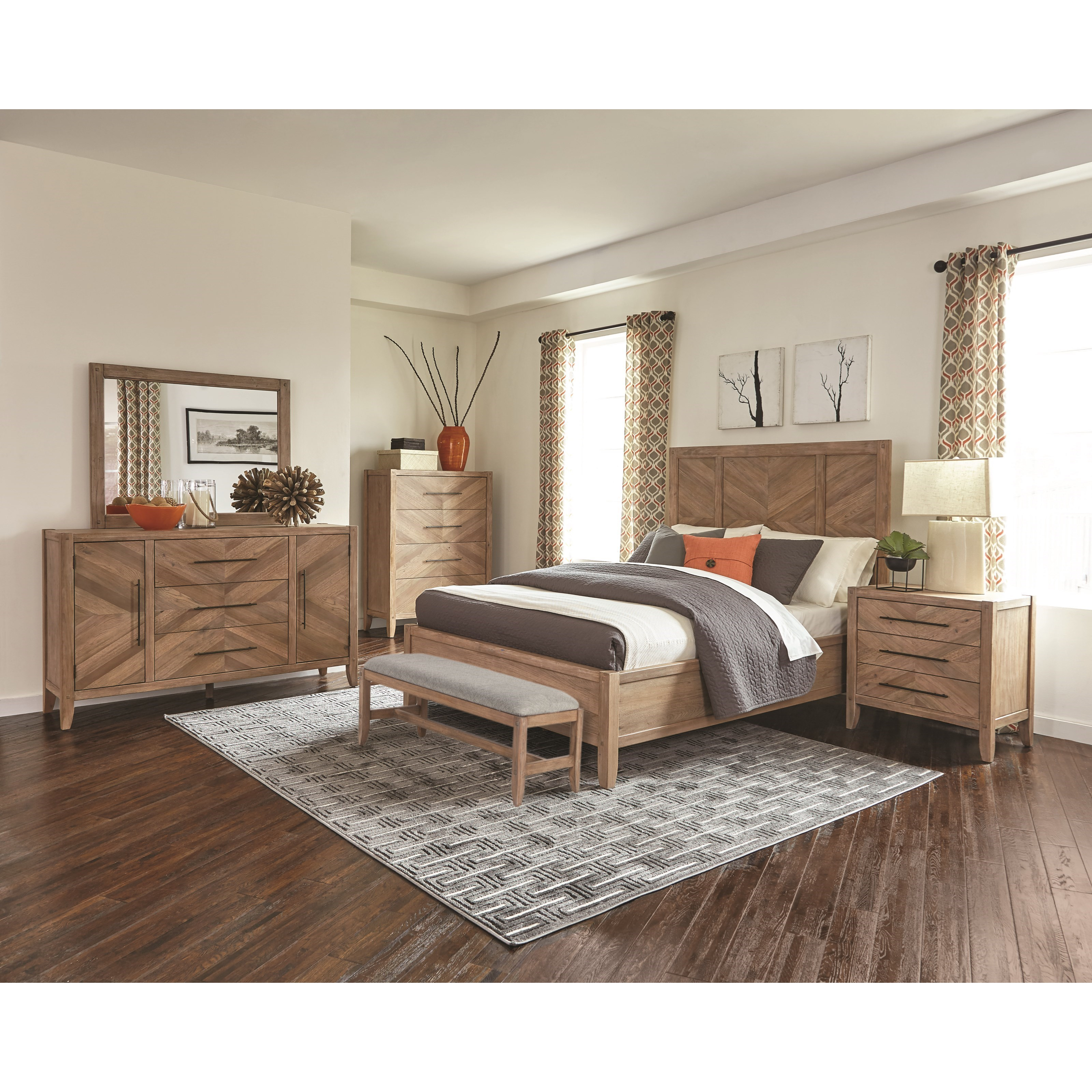 Auburn 4pc Bedroom Set Furniture Mattress Los Angeles And El Monte