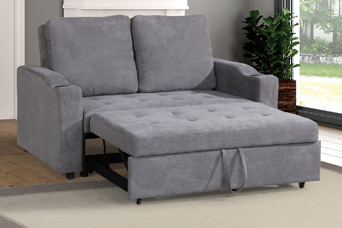 Convertible Sofa Compact F6579 Grey