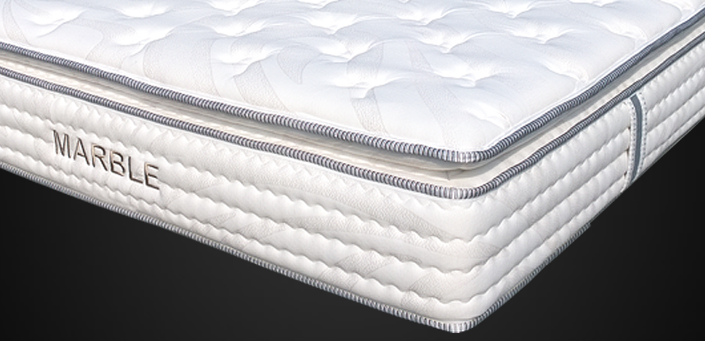 Primo Galaxy Plush Pocket Coil Mattress Furniture