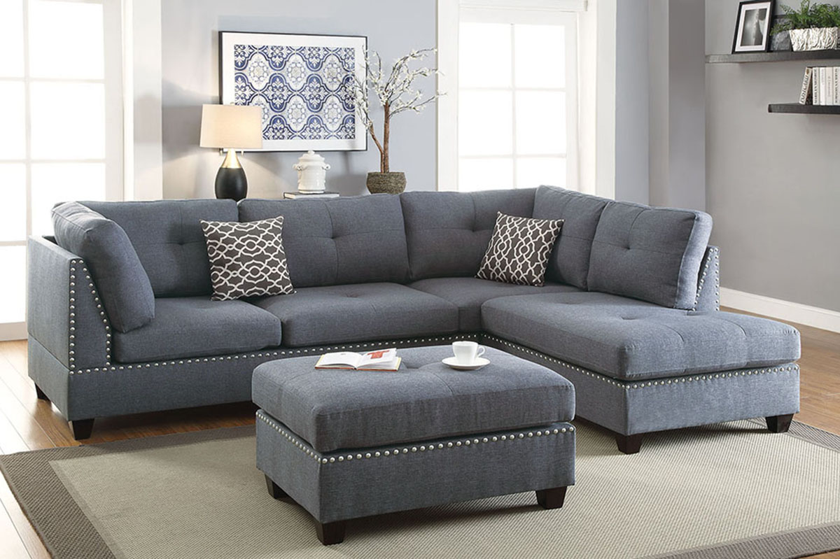 Marvelous 3 Pcs Sectional F6975 Interior Design Ideas Gentotryabchikinfo
